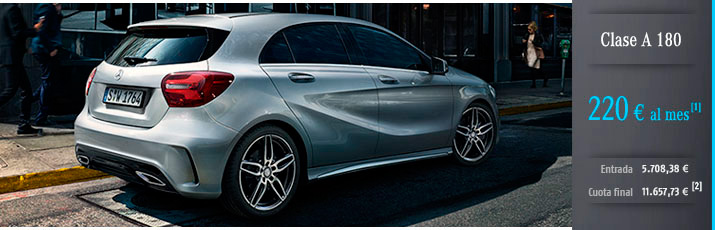 Oferta Mercedes Clase A 180d con Alternative Lease
