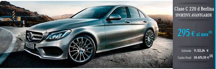 Oferta Mercedes Clase C 220d Berlina con Mercedes-Benz Alternative